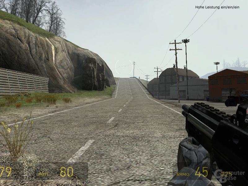 Half-Life 2 - Hohe Leistung