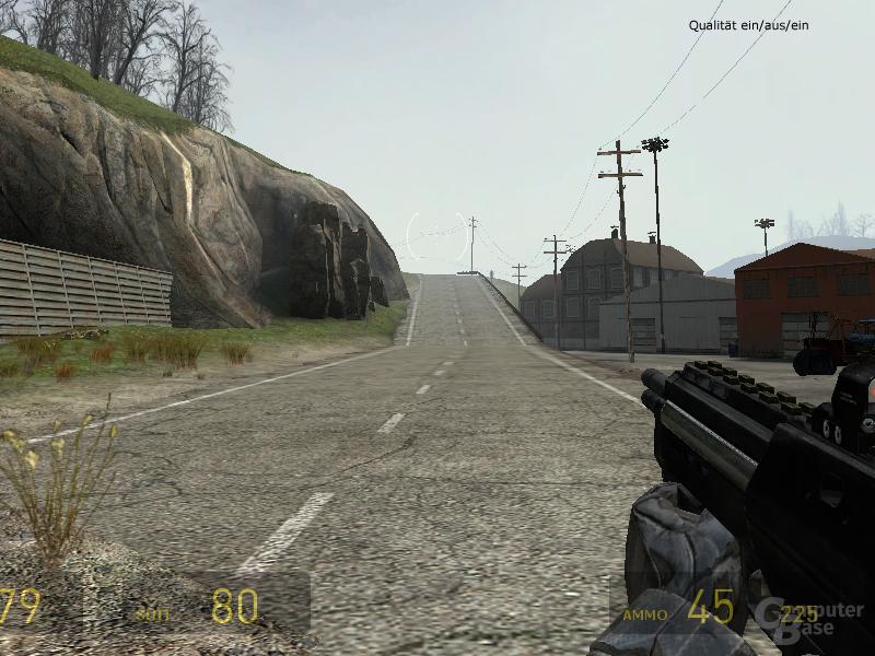 Half-Life 2 - Qualität (Standardeinstellung des Treiber)