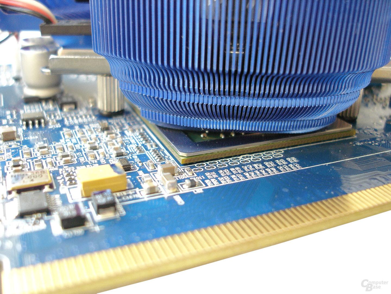 Zalman-Kühler und R430-Chip