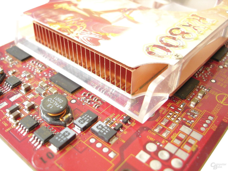 MSI RX800 XL TD256E - Kupferkühler