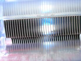 HiS Radeon X800 XL IceQ II iTurbo - Kühlrippen