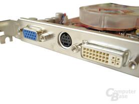 MSI RX800 TD256E - DVI & DSub