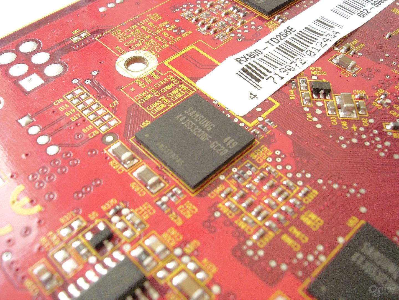MSI RX800 TD256E - GDDR3 2,0 ns