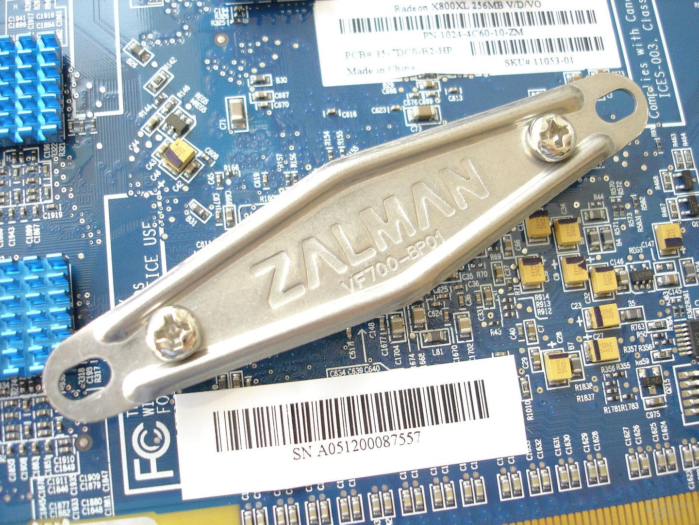 Arretierung des Zalman-Kühlers