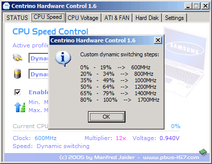 Centrino Hardware Control - Dynamic Switching 2