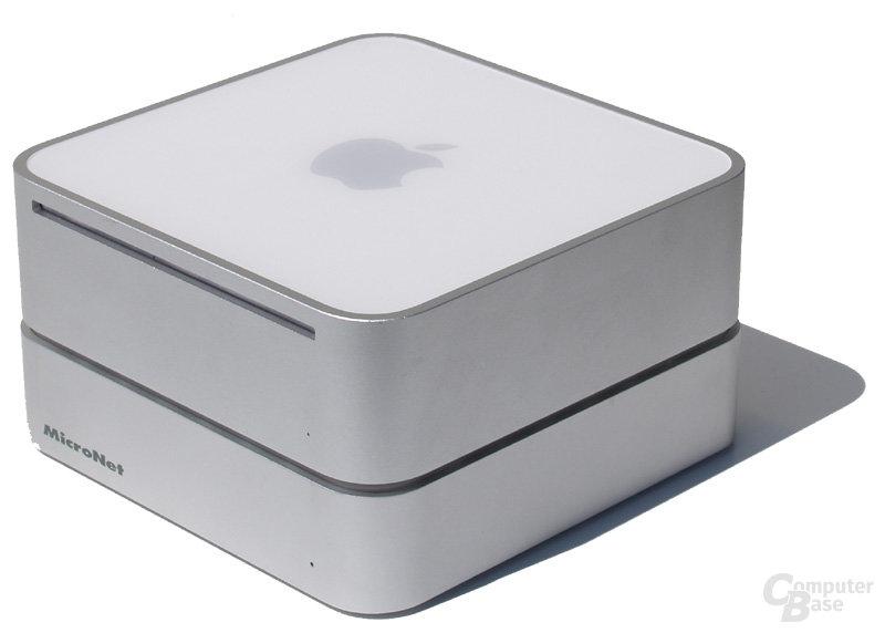 MicroNet miniMate mit Mac mini