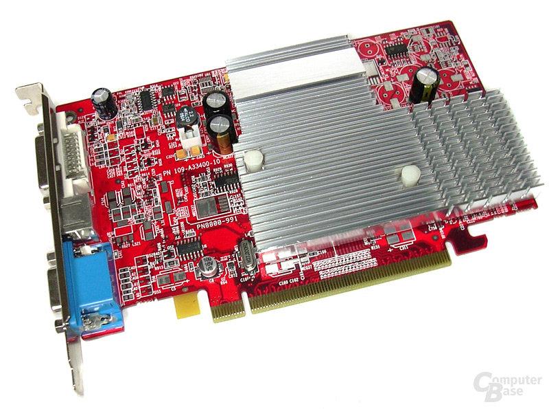 Radeon X300SE HM-128 Vorderseite