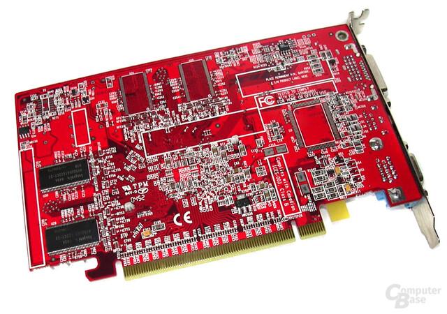 Radeon X300SE HM-128 Rückseite