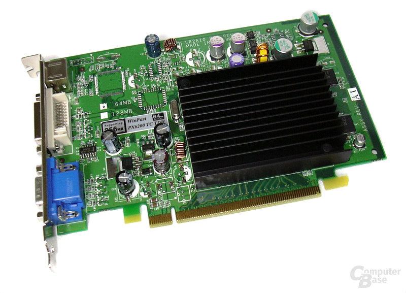 GeForce 6200 TC-64 Vorderseite