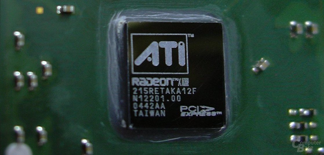 ATi Radeon X300SE HM-32 GPU