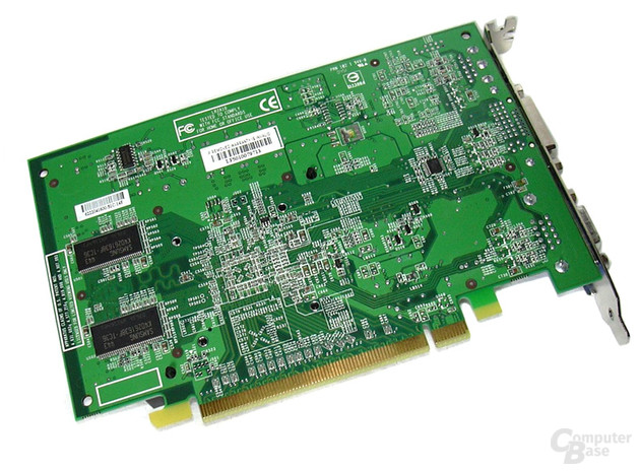 GeForce 6200 TC-64 Rückseite