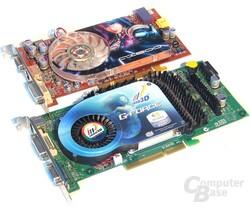 Testgrafikkarten: X800XT PE und 6800 GT