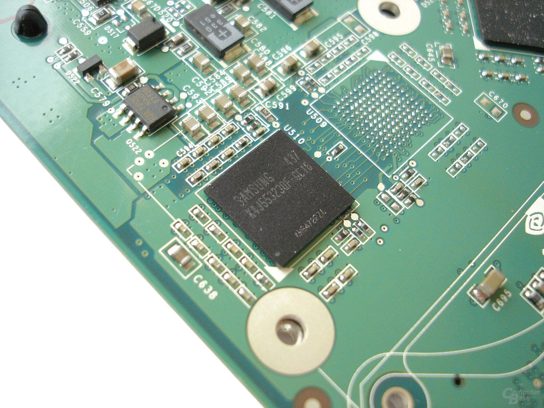 GDDR3-Speicher von Samsung mit 1,6 ns