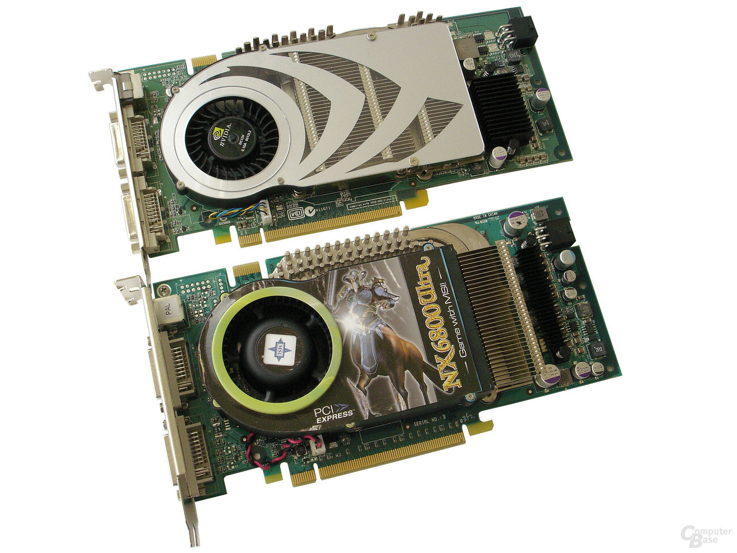 GeForce 7800 GTX vs. GeForce 6800 Ultra