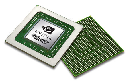 nVidia GeForce 7800 Chip