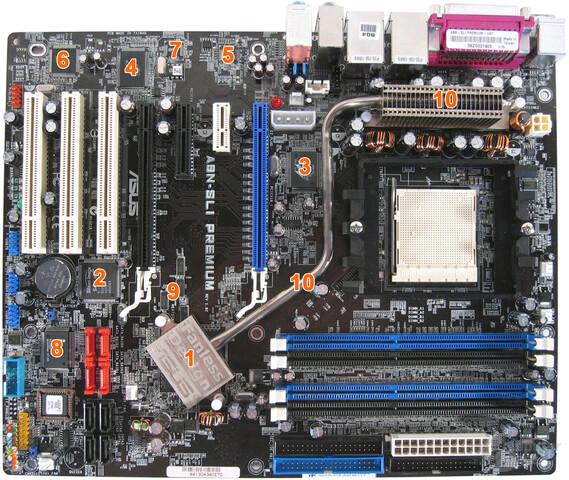 A8N-SLI Premium Komponenten