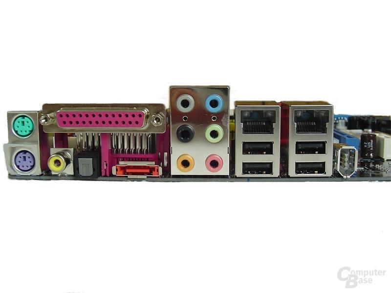Asus P5ND2 SLI Slotblende