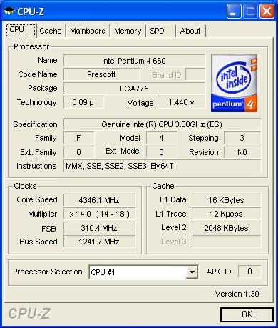 P5WD2 mit 310 MHz FSB