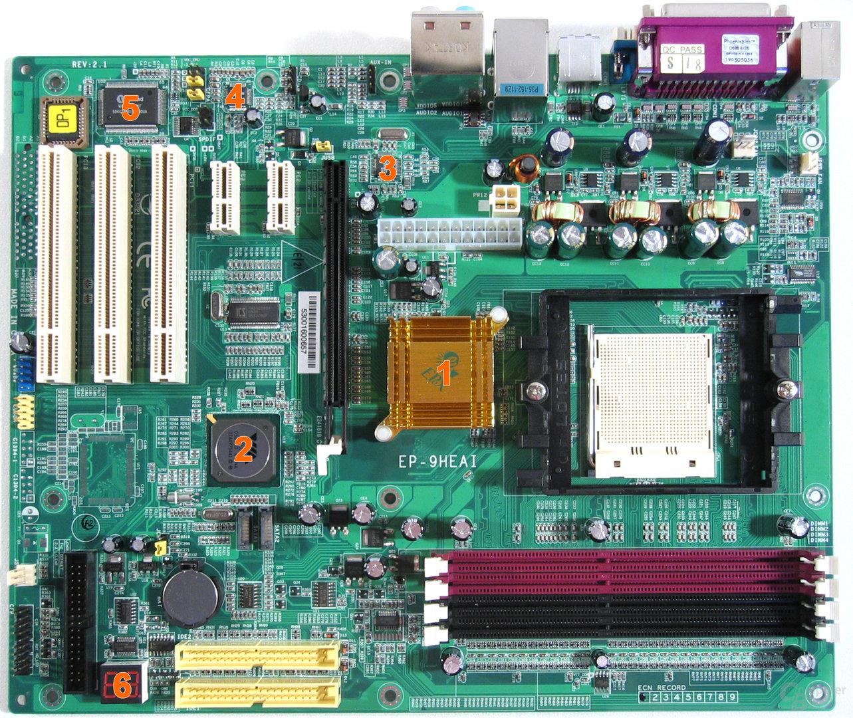 EPoX 9HEAI Komponenten