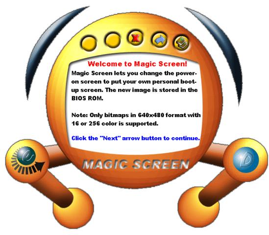 EPoX Magic Screen