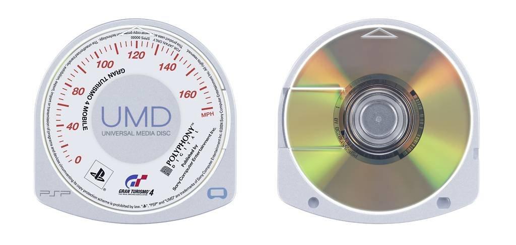 UMD Vorder und Rückseite