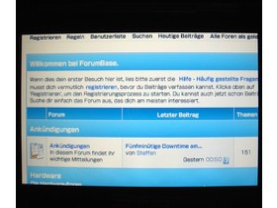 PSP Browser Forum