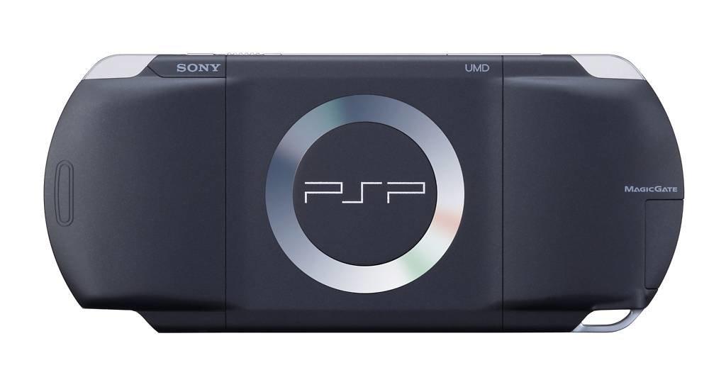 PSP Rückansicht