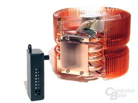 Zalman CNPS9500 LED mit FanMate 2