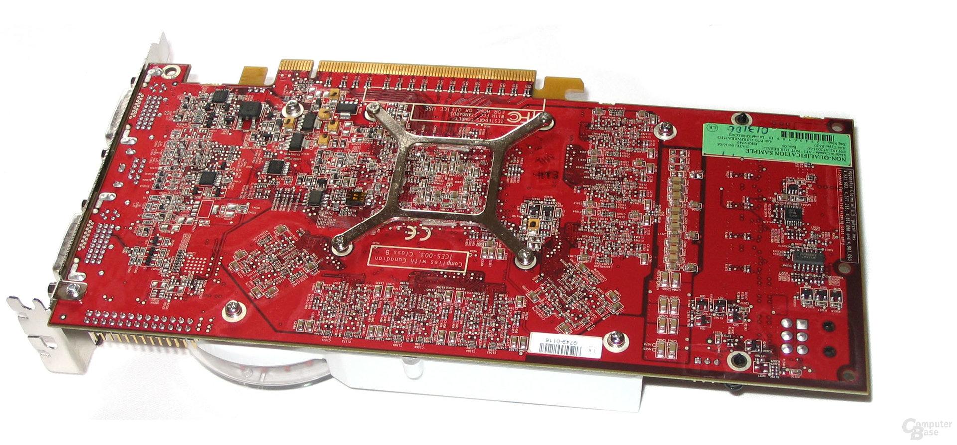 Radeon X1800 XT Rückseite