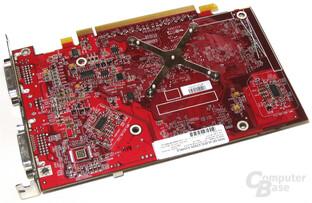Radeon X1600 XT Rückseite