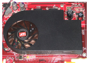 Radeon X1600 XT Kühler