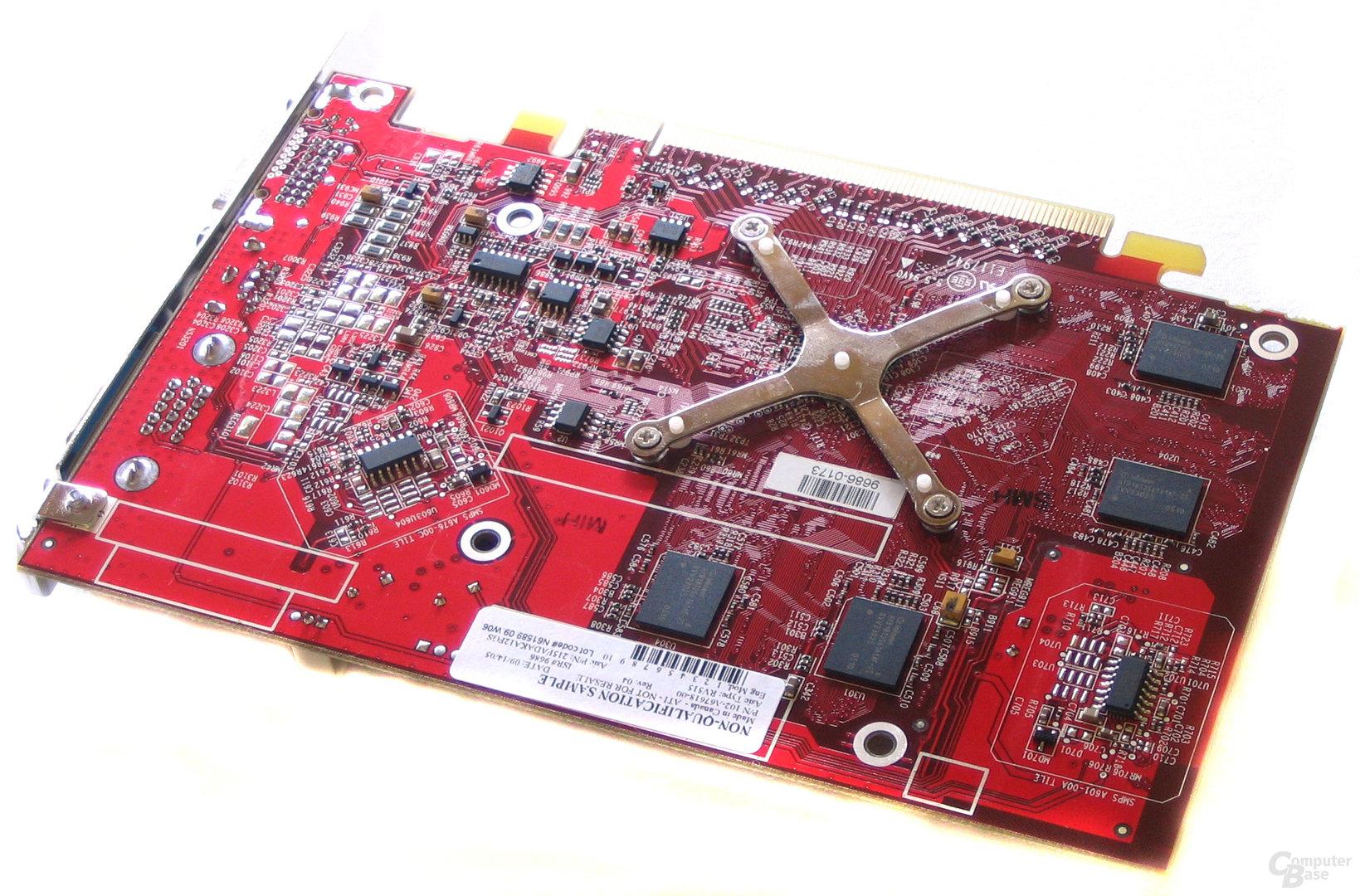 Radeon X1300 Rückseite