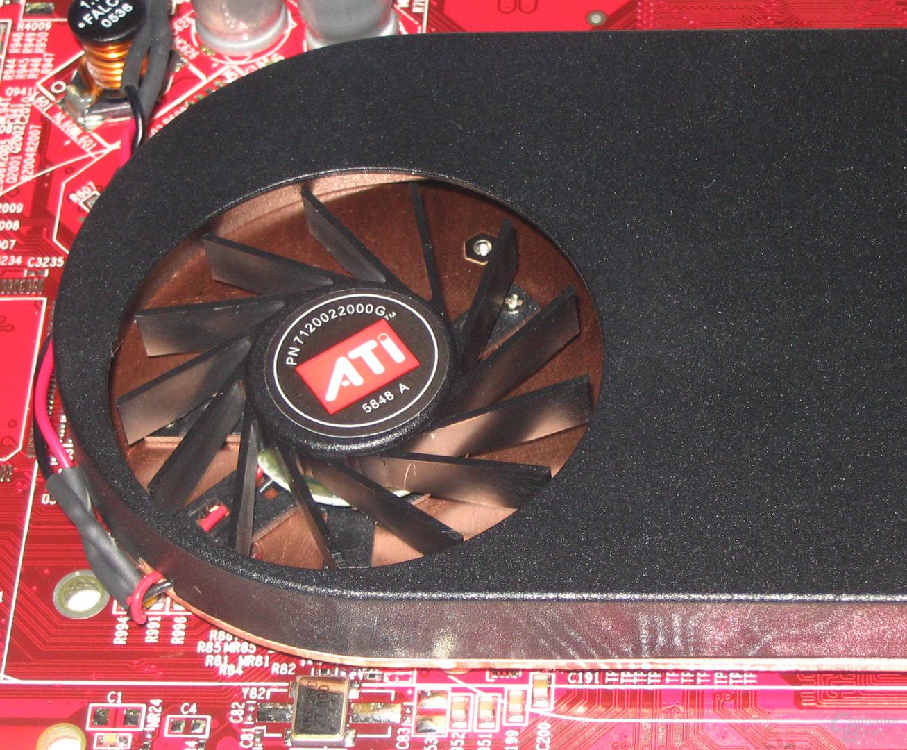 Radeon X1300 Kühler
