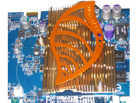 Gigabyte GeForce 6600 GT Kühler
