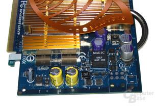 Gigabyte GeForce 6600 GT Spannungswandler