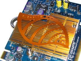 Gigabyte GeForce 6600 GT Passivkühler