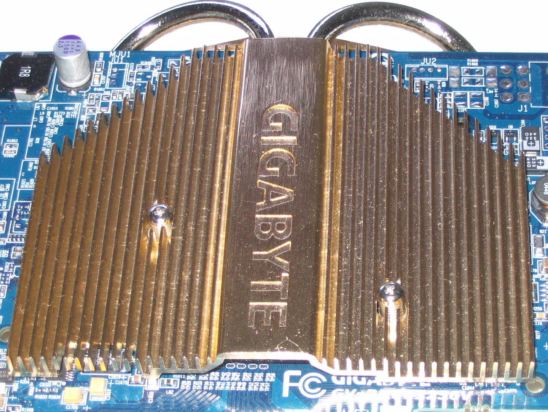 Gigabyte Radeon X800 XL Kühlkörper