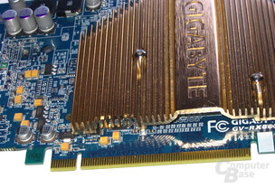 Gigabyte Radeon X800 XL PCIe-Interface