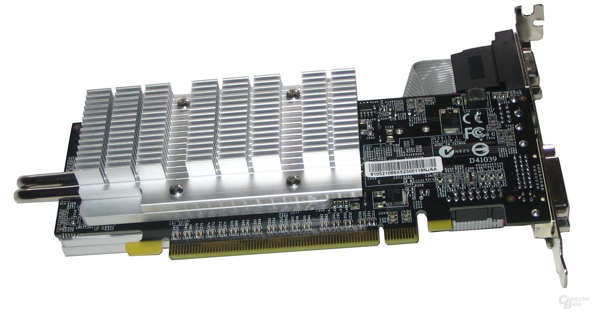 AOpen GeForce 6600 Rückseite