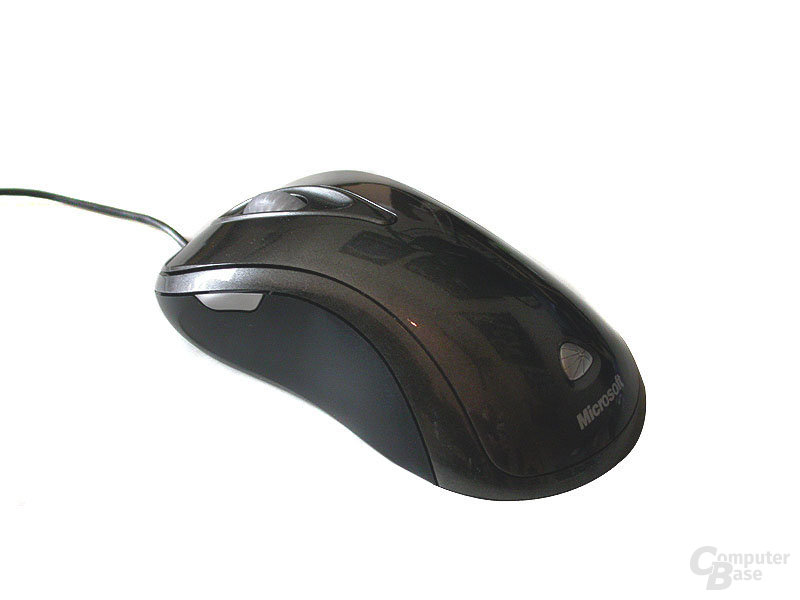 Verpackung Microsoft Laser Mouse 6000, isometrisch
