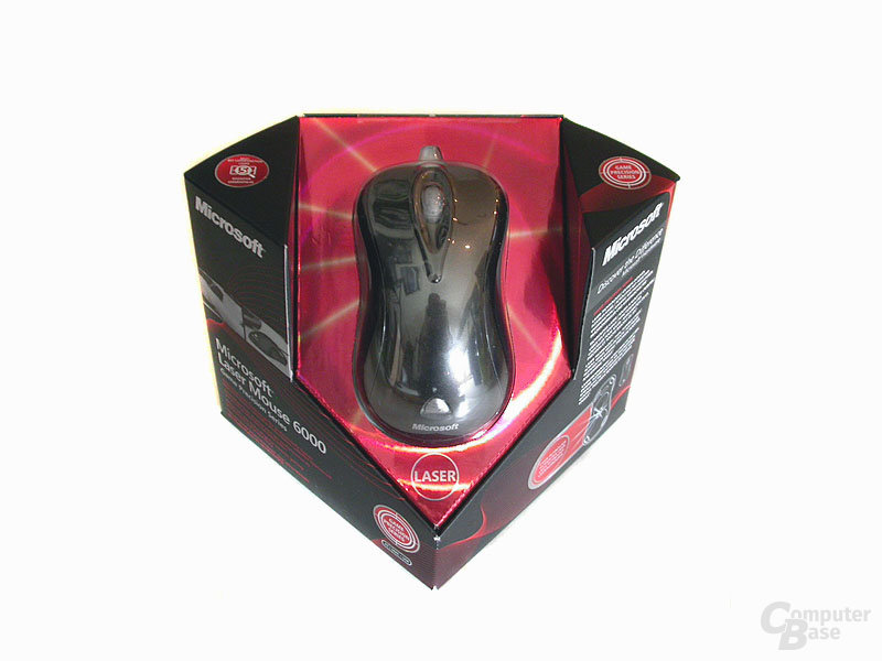 Verpackung Microsoft Laser Mouse 6000