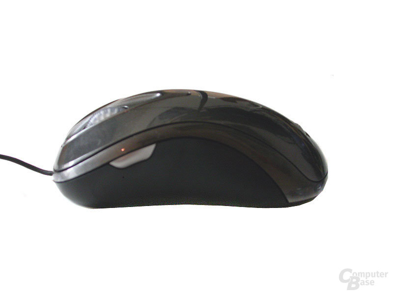 Verpackung Microsoft Laser Mouse 6000, seitlich