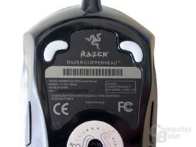 Razer Copperhead, Gleitpads