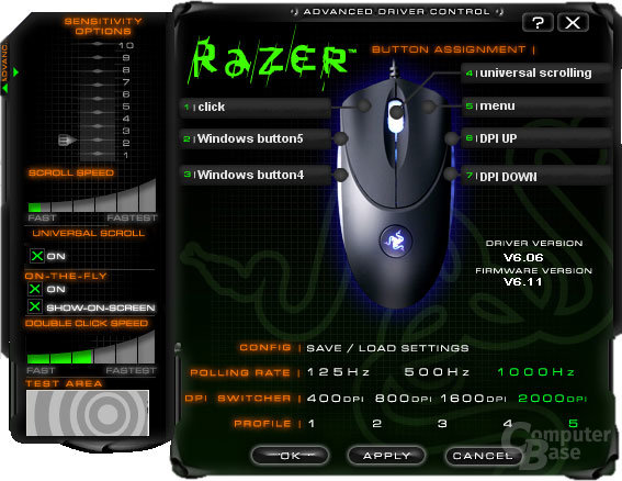 Razer Copperhead, Treiber #2