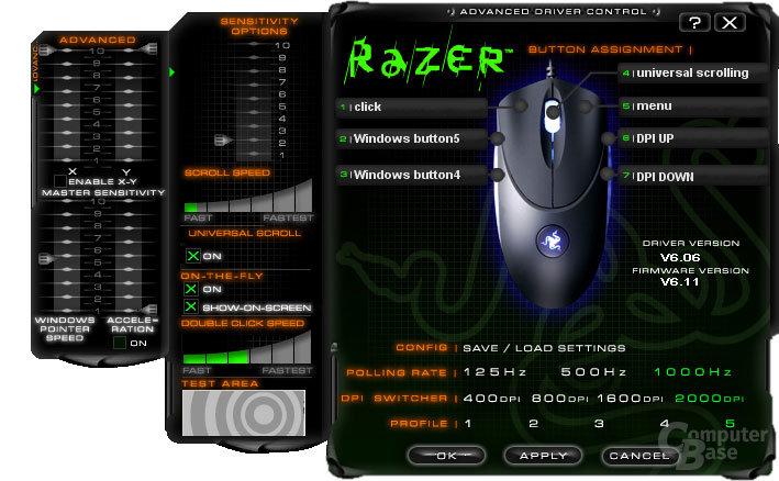 Razer Copperhead, Treiber #3