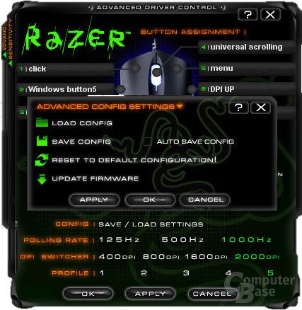 Razer Copperhead, Treiber #4