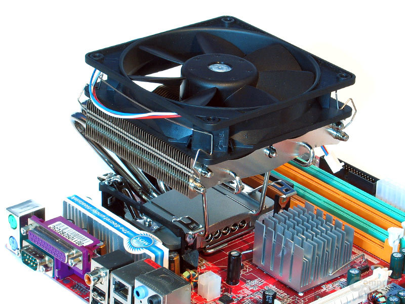 Thermalright SI-120 auf MSI Combo S775