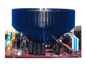 Thermaltake Blue Orb II auf MSI Combo S775