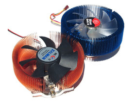Thermaltake Blue Orb II & Zalman CNPS 7700 Cu