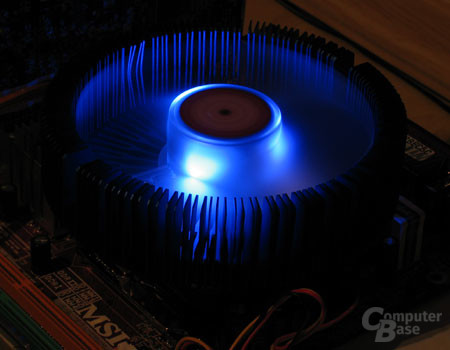 Thermaltake Blue Orb II Lichtspiel